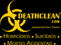 DEATHCLEAN - Desinfecção e Limpeza de Crime e Trauma