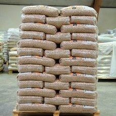 pellets de madeira para venda 65 € por tonelada 15 sacos kg