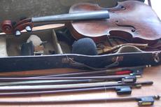 Restauro de violinos