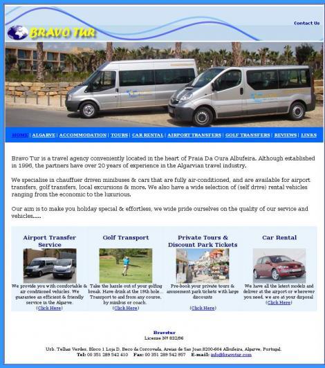 Bravo Tur - Agência de Viagens do Algarve Lda.