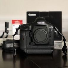 Câmara SLR Digital EOS 1D X 18.1MP da Canon + RMS L-Plate 21,000 Low
