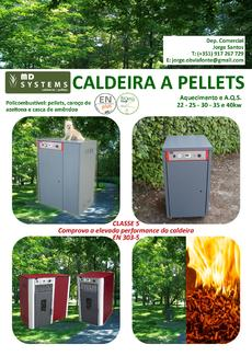 Caldeira a pellets MD SYSTEMS