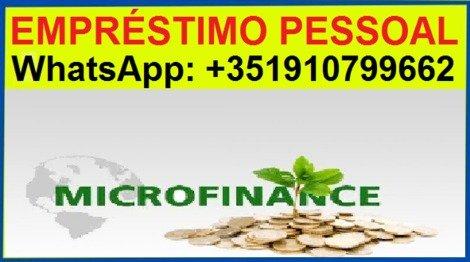 EMPRÉSTIMO PESSOAL,WhatsApp: +351910799662