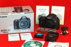 Câmera SLR Digital Canon EOS 5D Mark III de 22,3 MP - Preto (Apenas Co