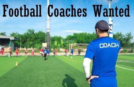 um excelente treinador de futebol necessário