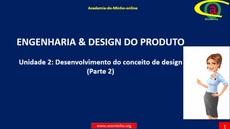 Unidade 2: Desenvolvimento do conceito de design (Parte 2)