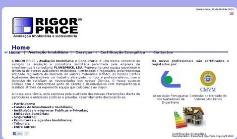 Rigor Price - Avaliação Imobiliária e Consultoria