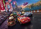 Papel parede Carros Faísca Mcqueen da Disney
